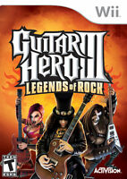 ☆ ☆ Guitar Hero III: Legends of Rock (Nintendo Wii, 2008) ☆ ☆