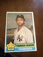 1976 Topps Thurman Munson New York Yankees #650 Sharp Corners Mint Must Look!!!!