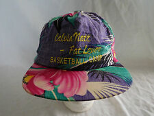 Calvin Natt Fat Lever Baseball Cap Hat Strapback Floral Tropical Denver Nuggets