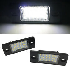 For Porsche Cayenne  VW Touareg  18 LED Lamp Number License Plate Light 1.8W