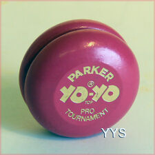 Vintage Collectible Wooden Yo-Yo - Parker Brothers Pro 1978 - Pink