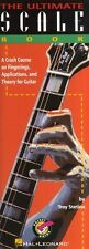 Troy Stetina: The Ultimate Scale Book Guitar, Guitar Tab Sheet Music Instrumenta