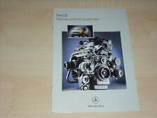 48625) Mercedes Vito CDI Prospekt 01/1999