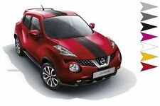 Nissan Juke (2014 >) 2 Sporty (Over The Top) Stripes - White (99998-86023)