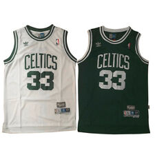 Larry Bird #33 Boston Celtics Men's Green/White Basketball Throwback Sewn Jersey