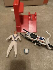 Vintage Ideal Evel Knievel Stunt Cycle With Energizer And Figure