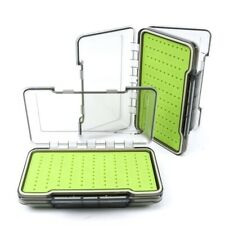 Fly fishing box  Silicon  Double sided waterproof  (medium)
