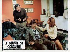 LOUIS VELLE PASCALE ROBERTS LE PERMIS DE CONDUIRE 1974 PHOTO D'EXPLOITATION #7