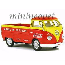 MCC 442338 1962 VW VOLKSWAGEN PICK UP TRUCK COCA COLA COKE 1/43 ORANGE / YELLOW