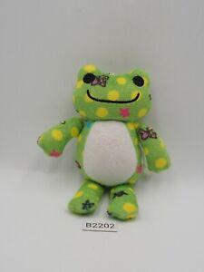 "Pickles The Frog B2202 Vivid Nakajima 1994 keychain mascot 6"" Plush Toy Doll"