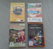 4 x DVD, Sandmännchen, Lauras Stern, Babys, Lesestart