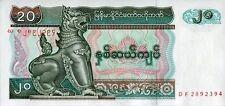 Myanmar 1994, 20 Kyat (UNC) / CF1189