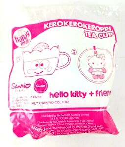 McDonalds Happy Meal Kerokerokeroppi Tea Cup Hello Kitty + Friend sealed toy