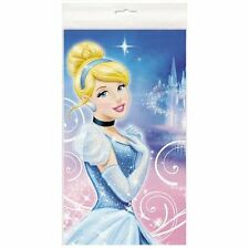 Disney Cinderella Plastic Table Cover Birthday Party Favor Supplies~