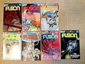 Fusion lot - Eclipse Comics anthropomorphic sci fi animals - Gallaci/Dowling