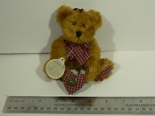 New ListingBoyds bears Bear necessities Valentines teddy bear ornament with heart Edna May