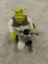 Shrek 2 Wise Crackin Donkey Interactive Talking Plush Toy And Shrek 2004 Lot