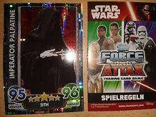 Force coronó Star Wars serie Movie 4 Holo-card nº 203 emperador Walker