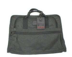 TUMI Laptop Slim Zip Nylon Computer Bag Delta Sky Miles Million Briefcase 207D3