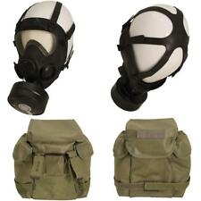 Gr.1 / 61-64 oliv Gasmaske / Vollmaske MP 5 ABC Maske Atemschutz + Filter+Tasche