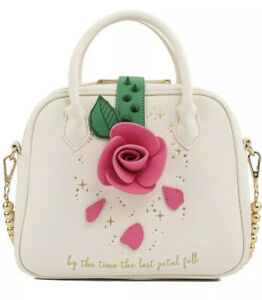 LOUNGEFLY X Disney Beauty And The Beast 30th Anniversary Rose Crossbody Bag