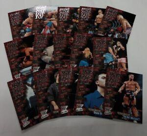 WWF FLEER WRESTLEMANIA Stone Cold Said So! Set of 15 trading cards  / 2001 Fleer