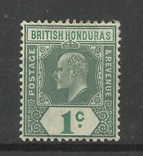 Br Honduras 1904, Sg 84, 1c Grey Green & Green, Mounted Mint [CW 21]