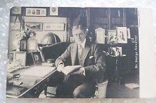 Postcard- MR. GEORGE ALEXANDER