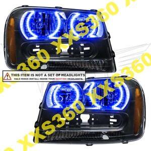 ORACLE Headlight HALO RING KIT Chevrolet TrailBlazer 02-09 BLUE LED Angel Eyes