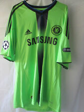 Chelsea 2010-2011 Away Football Shirt Size Large CL patches /11762