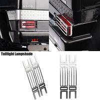 Für TRX-6 G63 TRX-4 G500 RC Auto Metall Rücklicht Lampenschirm Mesh Cover Grille