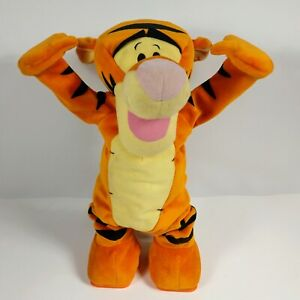 "Tumble Time Tigger 13"" Cartwheels Talks Winnie Pooh Fisher Price Toy Plush 2005"