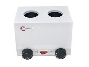 OMWAH Massage Oil Lotion Double Bottle Heat Warmer Adjustable Temperature Spa