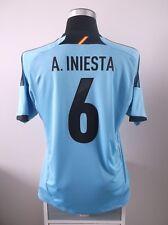 Andres INIESTA #6 BNWT Spain Away Football Shirt Jersey 2012/13 (L)