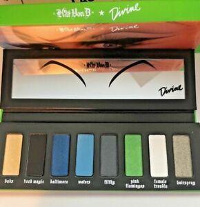 Kat Von D 'Divine' Eyeshadow Palette - 8 Shades Brand New