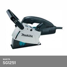 "Makita SG1251 Wall Chaser 5"" 125mm 1400W 11lbs 10000 rpm 220V-240V 5.0M Corded"