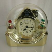 Seiko Animated Clown Clock Quartz PW 409 G Movement Japan Assembled Thailand