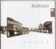 FRANCO BATTIATO CD SINGLE PROMO 1 traccia 2007 IL VUOTO digipack SIGILLATO