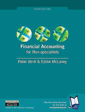 Financial Accounting for Non-specialists by Eddie McLaney, Peter Atrill...