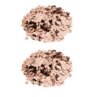 20g Rose Gold Metalic Foil Spark Table Confetti Scatter Party Table Decor