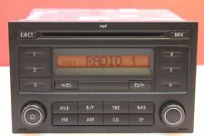 VOLKSWAGEN POLO T5 FOX LUPO ALHAMBRA RCD 200 RADIO CD MP3 PLAYER STEREO CODE VW