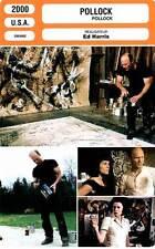 FICHE CINEMA : POLLOCK - Harris,Gay Harden,Connely,Kilmer 2000