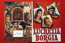 LUCREZIA BORGIA JACQUE 53 VERY RARE EXYU MOVIE PROGRAM