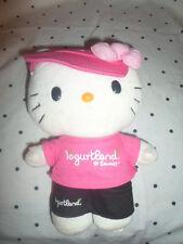 "Limited Edition Yogurtland Hello Kitty 9"" Plush Soft Toy Stuffed Animal"