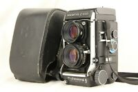 【 Rare! f EXC+5 in Case 】 MAMIYA C330 f + SEKOR S 80mm f2.8 Blue Dot from JAPAN