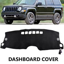 Fits Jeep Patriot 2016-2017 w// Auto Lights Carpet Dash Cover Mat Charcoal Grey