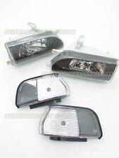 Headlights Headlamps for 33#G Toyota Corolla AE92 FX GT E90 EE90 sedan 89-92 BK