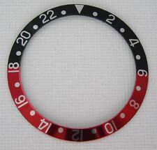 RED BLACK BEZEL INSERT FOR ROLEX SAPPHIRE GMT MASTER COKE 16710 16760