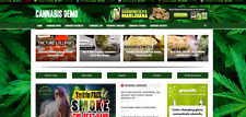 Cannabis News Amp Guides Affiliate Product Website Automated Content