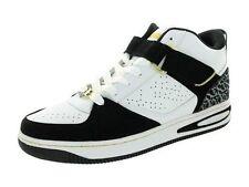Fubu Men's Inbound Casual Shoe Black/White/Gold Size-10.5M US